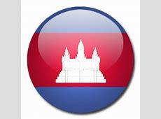 Button Flag Cambodia Icon, PNG ClipArt Image IconBugcom