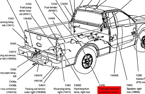 2004 Ford F150 Fuel Tank Diagram by Po 453 Code And Doesn T Work The Fuel Ford F150