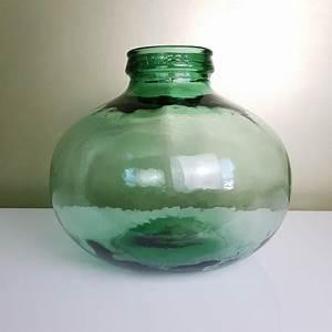 Gros Vase En Verre : bonbonne en verre dame jeanne gros culot marque viresa ~ Melissatoandfro.com Idées de Décoration
