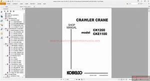 Kobelco Crawler Crane Ck1200