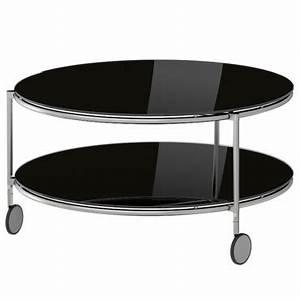 Table Basse En Verre Ikea : table basse ronde en verre ikea table de lit ~ Teatrodelosmanantiales.com Idées de Décoration