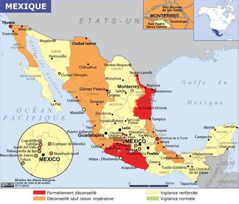 Mexique - Ministère de l'Europe et des Affaires étrangères