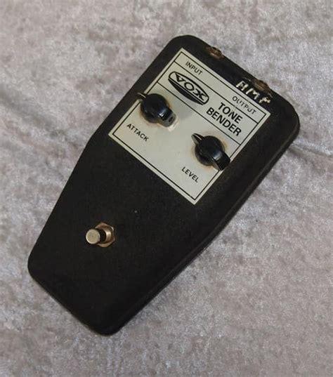 Vintage Vox Tone Bender Tonebender Fuzz Pedal Reverb