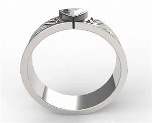 trillion cut diamond wedding ring vidar jewelry unique With trillion cut wedding rings