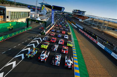 Here's the 2020 24 Hours of Le Mans official photograph ...