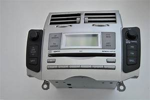 Toyota Yaris Rhd 2006 Cd Radio Player Tuner Head Unit