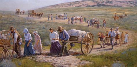 mormons   settlement   west america