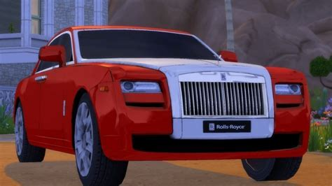 Rolls Royce Ghost at Understrech Imagination » Sims 4 Updates