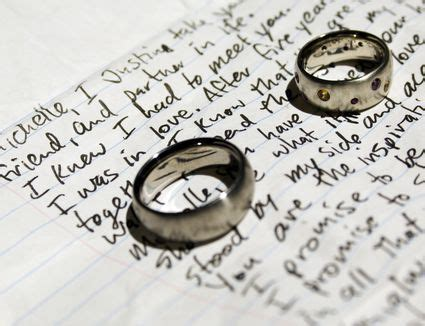 sle wedding ring ceremony vows to say