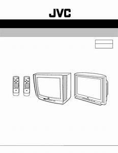Jvc Av 20n83 Av 21d83 Color Tv Schematic Diagram Manual