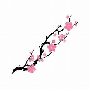Fleur De Cerisier Signification : grand tatouage temporaire branches de cerisier fleuries ~ Melissatoandfro.com Idées de Décoration