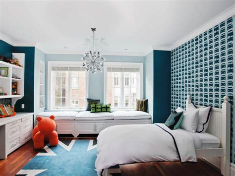 Brilliantly Blue Kids' Rooms