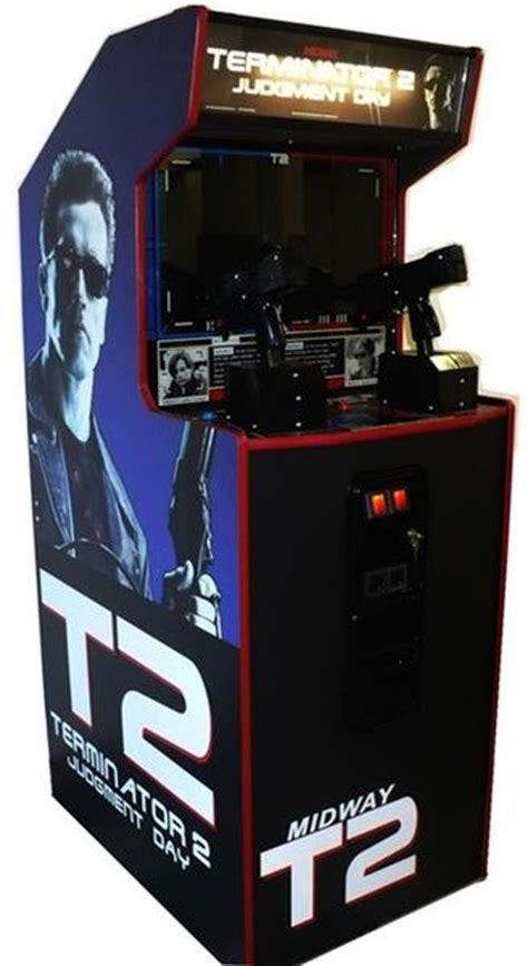 terminator  gun game refurbished arcades market