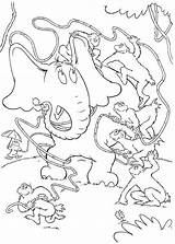 Coloring Pages Leech Template Horton sketch template