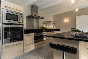cuisine noir best cuisine blanc inox gallery design trends 2017