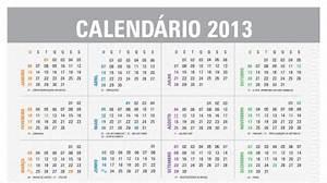 Calendário 2013 para imprimir grátis