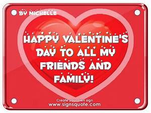 Happy Valentines Day Friends Quotes. QuotesGram