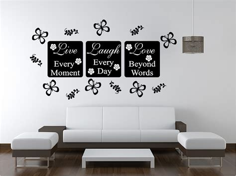 live wall sticker quote bedroom lounge kitchen ebay