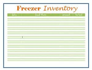 Meal Sign Up Sheet Template Printable Freezer Inventory Sheet Printable Charts Templates Form