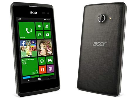 Acer Mobile Phones Review by Mwc 2015 Acer Liquid M220 Affordable Windows Phone 8 1