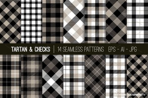 vector tartan checks patterns graphic patterns