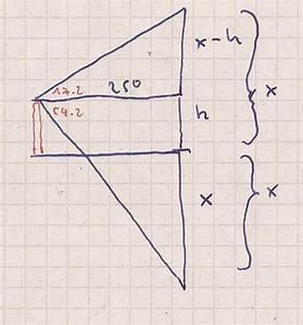 Höhe Berechnen : berechnung von der h he eines ballons ber dem wasserspiegel mathelounge ~ Themetempest.com Abrechnung