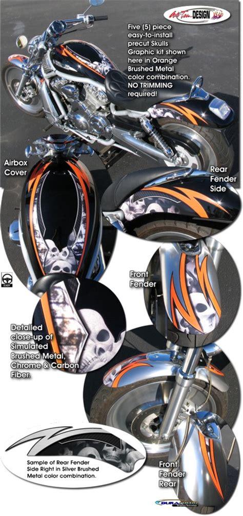 Davidson Vinyl Graphics by Skulls Graphic Kit 1 For Harley Davidson Vrsc V Rod