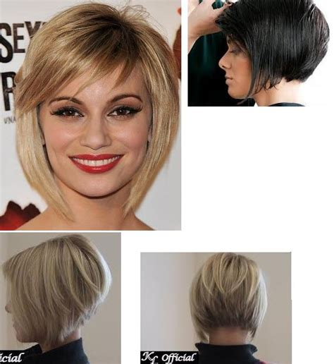 Angled Bob Hairstyles Front and Back View