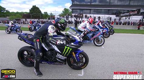 Ama Pro National Guard Superbike Race 2 Highlights From