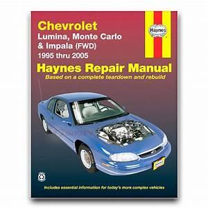 Chevy Impala Haynes Repair Manual Ls Sport Base Ss Shop