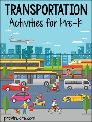 transportation activities and lesson plans for pre k and 469 | transportation activities preschool 300x400