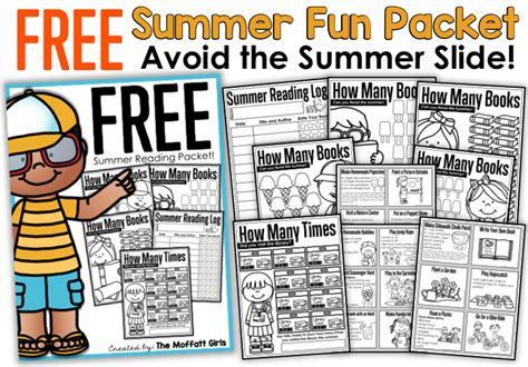 Summer Review Packets
