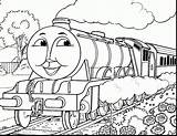 Train Simple Coloring Pages Thomas Getdrawings Quick sketch template