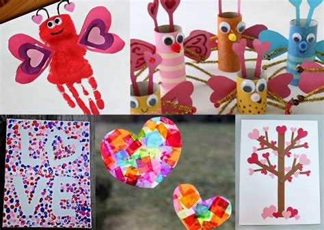 24 adorable s day craft ideas for preschoolers 536 | Valentines Day Preschool Crafts Set A
