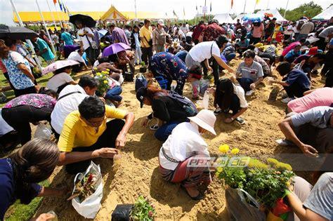 ประชาชนแห่เก็บพันธุ์ข้าวพืชมงคล หลังเสร็จสิ้นพระราชพิธี ...