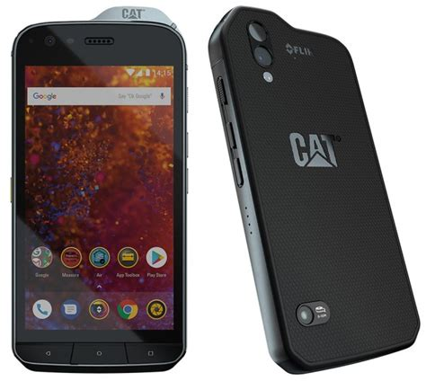 Cat S61 launched with integrated FLIR thermal imaging camera
