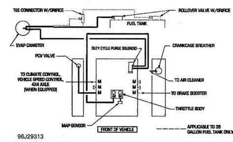 1999 Dodge Dakotum Vacuum Diagram by I Need A Vacuum Line Diagram For A 99 Dodge Dakota 318 Fixya