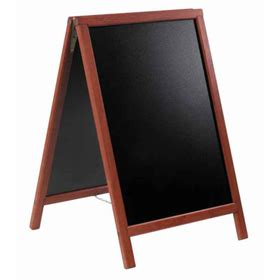 american metalcraft sbdm85 securit sandwich board a frame sign signs write on boards