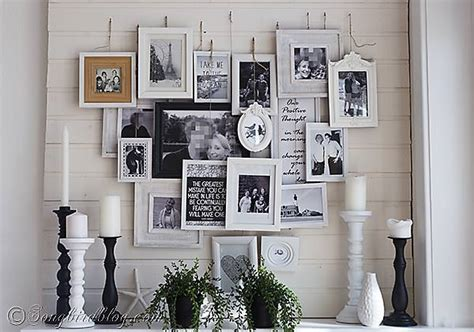 Create A Diy Photo Gallery With Style  Decorating Your
