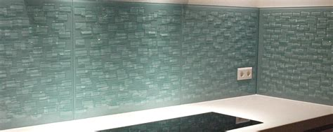 Achterkant Keuken by Nieuwe Achterwand Keuken Glasatelier Edelglas