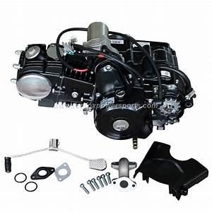 125cc Engine Fully Auto W  Reverse Motor For 70cc 90cc 110cc Atv Dirt Bike