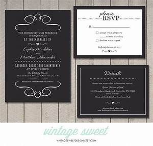 modern wedding invitation rsvp information card With wedding invitations rsvp and information