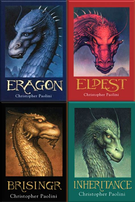fantasy series  written eragon book