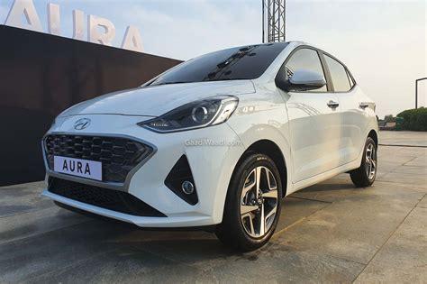 All New 2020 Hyundai Aura Compact Sedan Unveiled In India