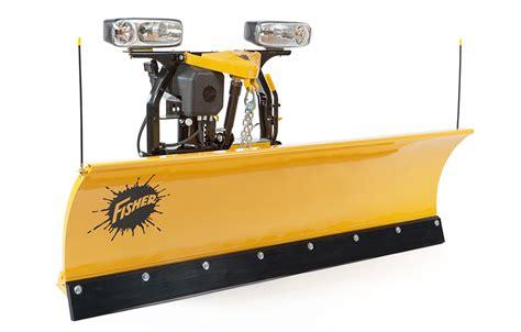 light duty truck plow fisher sd series snow plow dejana truck utility equipment