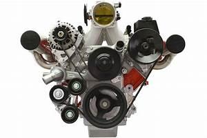 Ls Truck Turbo Alternator Relocation Bracket For Ls3 Ls1