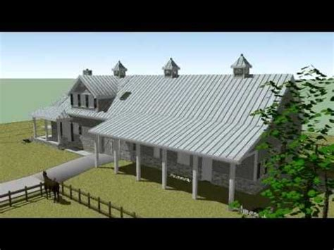 Metal Barn With Apartment Plans