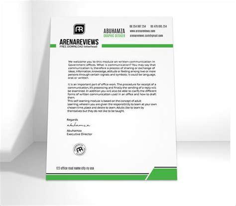 company letterhead template premium