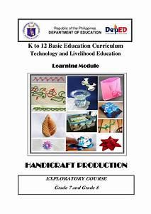Handicraft production lm