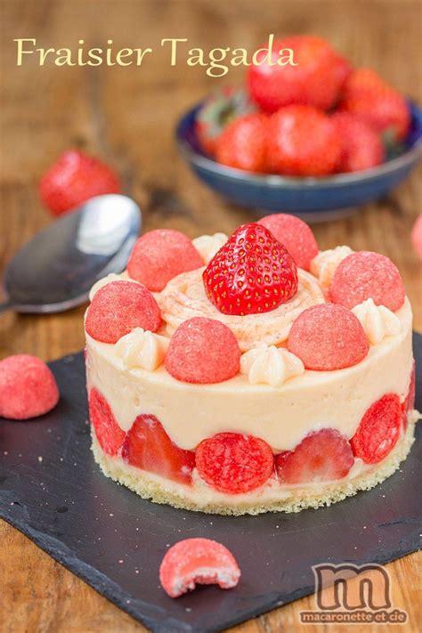 la cuisine de aux fraises fraisier totalement régressif aux fraises tagada mon